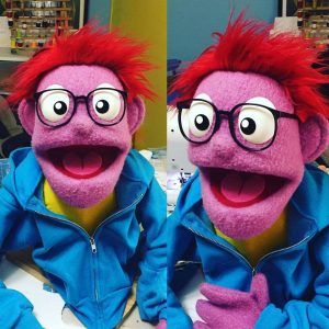 Kid puppet for Denmark pilot