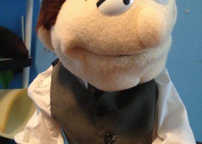 puppet caricature