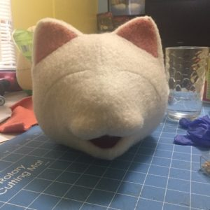 Cat Puppet Head