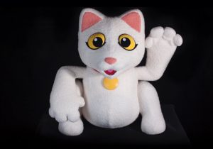 Michael Harrison Cat Puppet