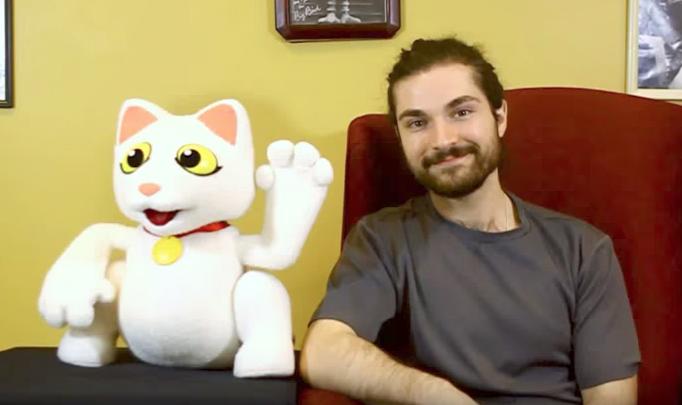 James Kemp Puppets Builds Lucky Cat Ventriloquist Puppet