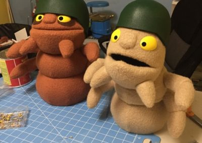 James Kemp Puppets Army Ants Pest Control Company
