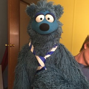 Banjo Bear Completed Puppet