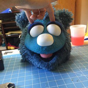 Banjo Bear Puppet Eyes
