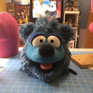 Banjo Bear Puppet Head