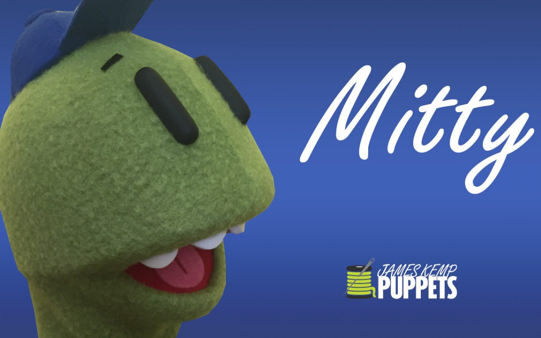 Mitty the T-Rex Custom Puppet – James Kemp Puppets