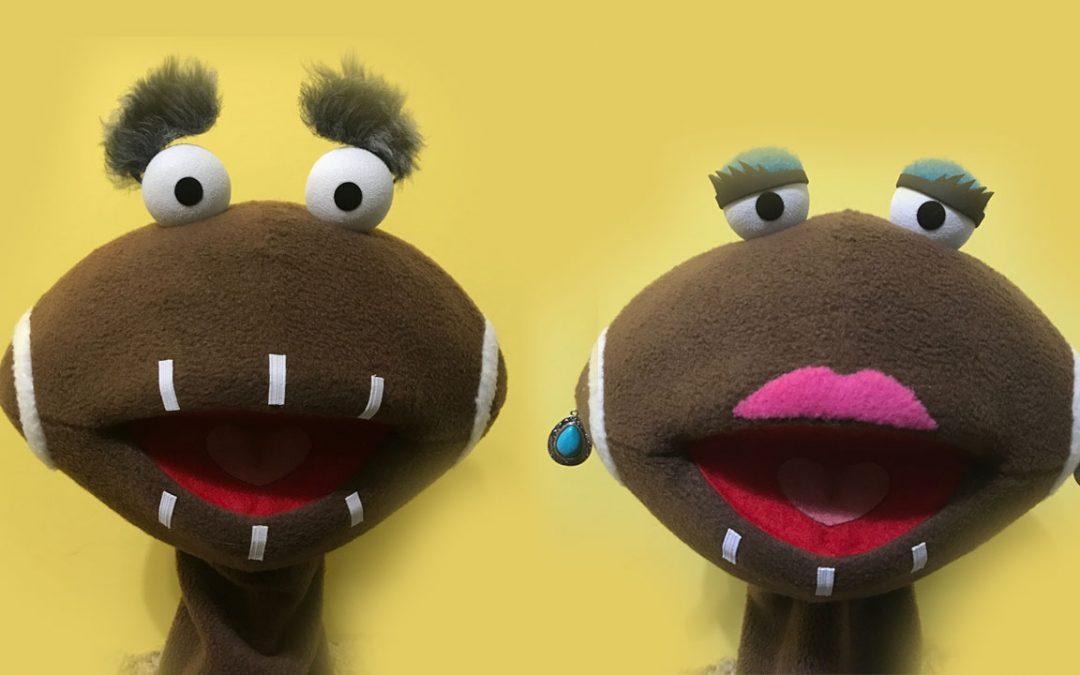 Football Puppets Built by James Kemp Puppets