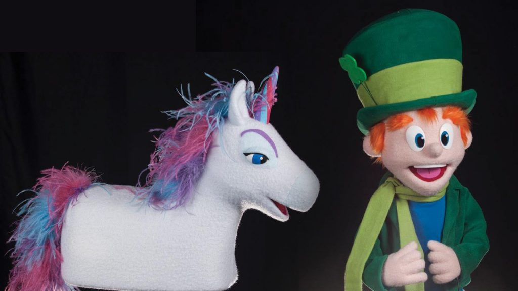 Lucky Charms Puppets