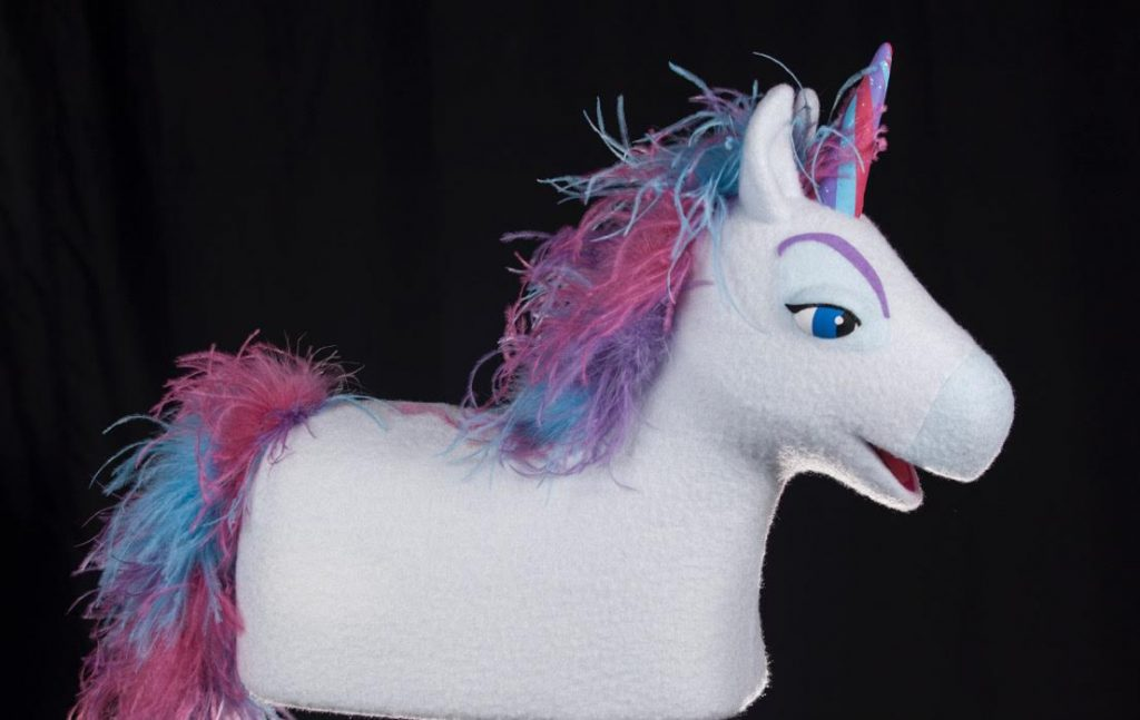 Unicorn Marshmallow Lucky Charms Puppet