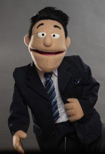 Car Salesman Custom Puppet Pose 2 Photo
