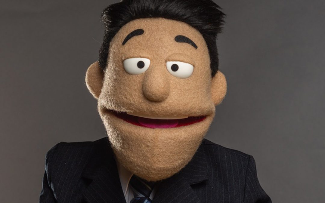 Car Salesman Custom Puppet