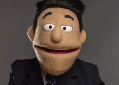 Car Salesman Custom Puppet Photo