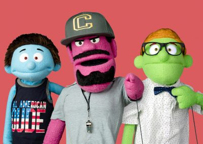 Zach, Coach Pepperjack, and Lucas